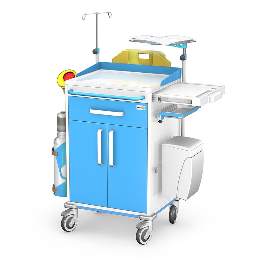Wózek reanimacyjny REN-01ST