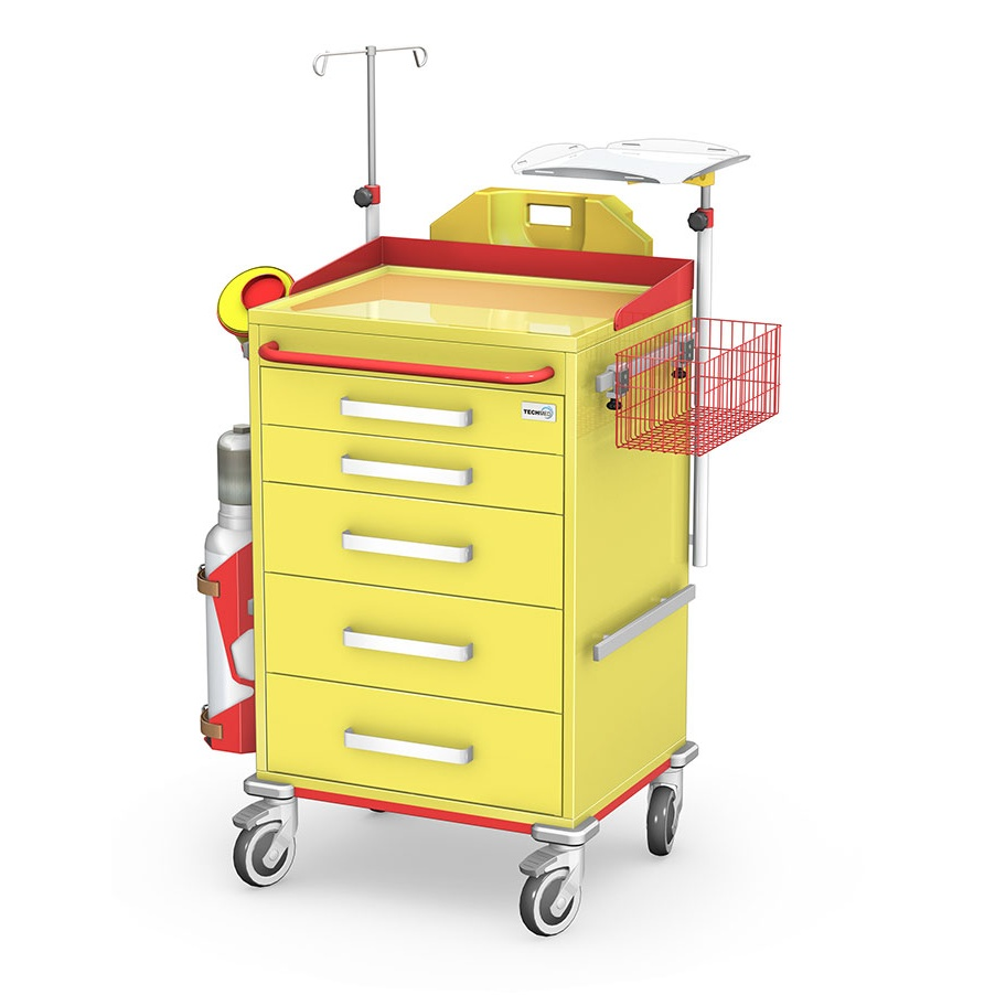 Wózek reanimacyjny REN-05ST