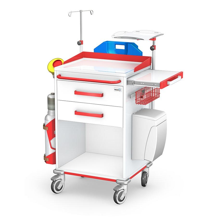 Wózek reanimacyjny REN-02ST