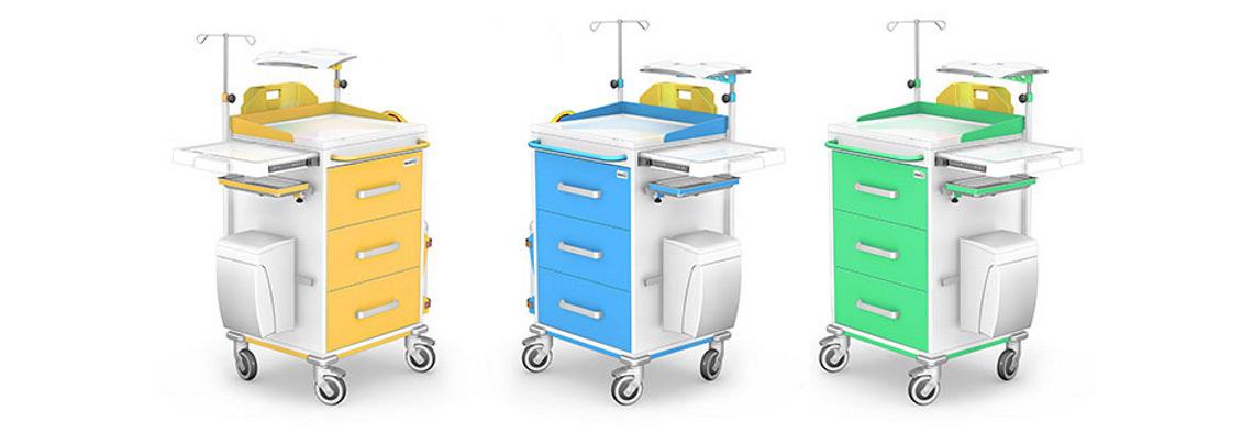 Wózki reanimacyjne REN-03