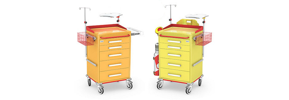 Wózki reanimacyjne REN-05