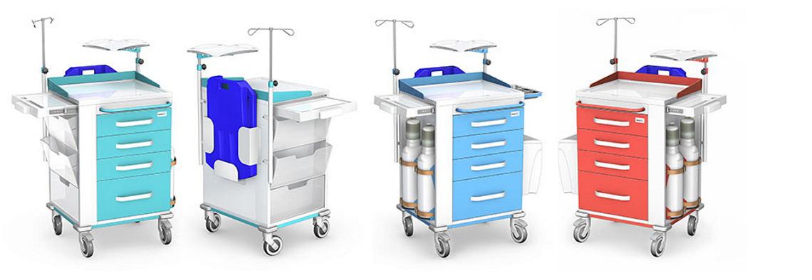 Wózki reanimacyjne REN-06