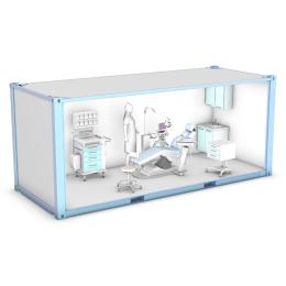 Gabinet stomatologiczny - kontener mobilny-medyczny