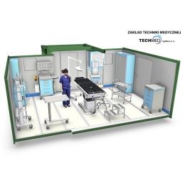 Szpitale polowe mobilne kontenerowe