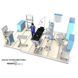 Szpitale polowe mobilne kontenerowe wyposażenie