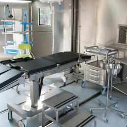 Kontener medyczny rozsuwany KRE20