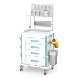 Wózki medyczne VITAL – anestezjologiczne seria AVIT